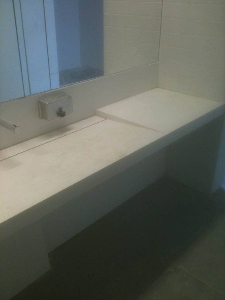 Reception Desk, Cubicle Countertops And Foyer Table: